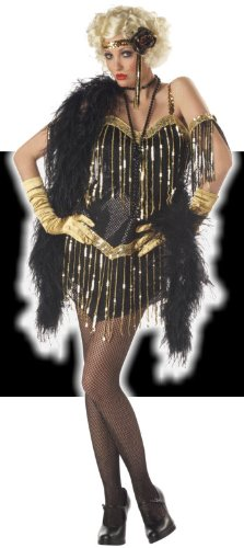 Roaring Twenties - Jazz Baby Flapper Costume - MEDIUM