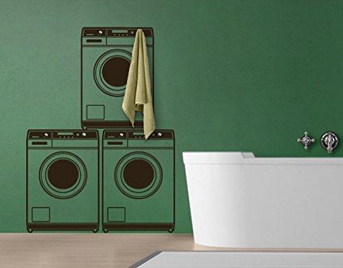 Wandtattoo Haken No.MW45 Waschmaschine