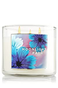 Bath & Body Works Signature Collection Moonlight Path 3-wick Candle