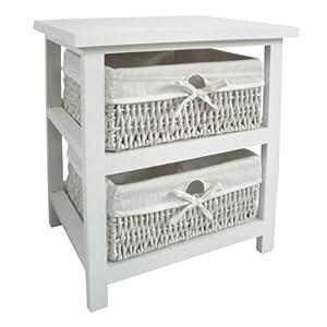 Premier housewares cajonera para ba o madera 2 cajones - Cajoneras para bano ...