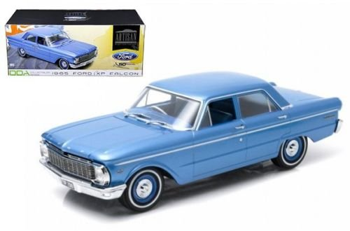 New 1:18 ARTISAN COLLECTION - BLUE 1965 FORD XP FALCON (50TH ANNIVERSARY) Diecast Model Car By Greenlight (1965 Ford Falcon Model compare prices)