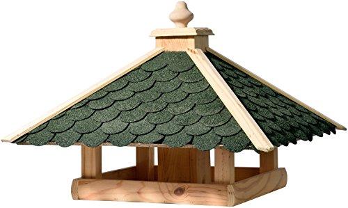 dobar-98540FSCe-Klassisches-Vogelhaus-aus-Holz-gro-XL-54-x-54-x-38-cm