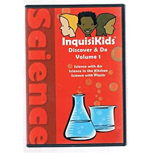 InquisiKids Discover & Do Volume 1 Science with Air, Science in the Kitchen, Science with Plants
