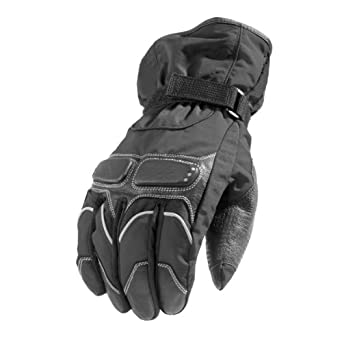 New Winter Full Textile Biker Motorcycle Motorbike Waterproof Gloves XLarge