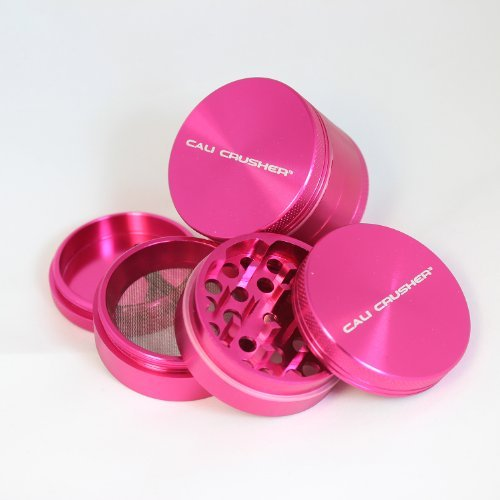 Cali Crusher Herb Grinder 4 Piece Pink (Cali Crusher Grinder Pink compare prices)