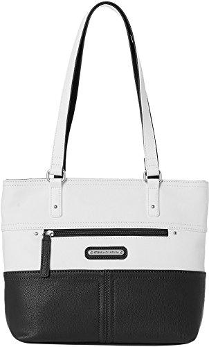 stone-mountain-dora-tote-handbag-one-size-black-white