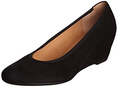 Gabor Womens Fantasy Black Court Shoes 5.360.17 4 UK, 37 EU