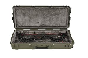 SKB Cases iSeries Bowtech Parallel Limb Single Bow Case, Military Green 3i-4217-BPL-M by SKB Cases