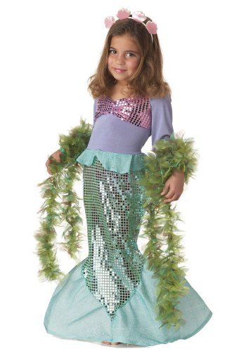 Little Girl Mermaid Costume