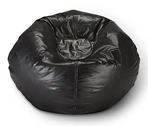 Ace Bayou ABC Life Style Furniture Large Bean Bag, Matte Black