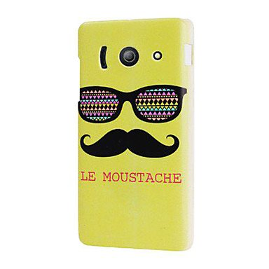 guoxian-green-le-moustache-glasses-hard-plastic-case-cover-for-huawei-ascend-y300