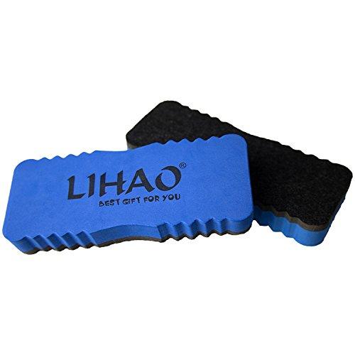 lihao-2x-whiteboard-loscher-schwamm-wischer-magnetisch-blau