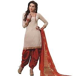 Trendy design cotton unstiched cotton chudidhar materials