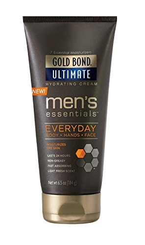 Gold Bond Men's Everyday Essentials Cream, 6.5 Ounce