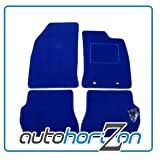 TOYOTA CELICA (1999 on) BLUE FULLY TAILOBLUE CAR FLOOR MAT SET