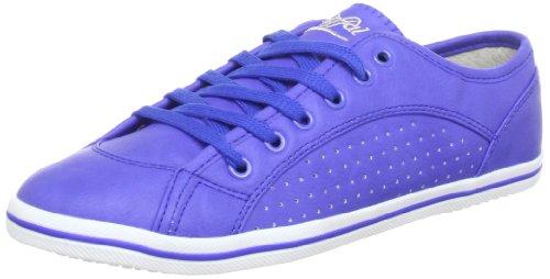 Buffalo 507- V9987 TUMBLE PU Low Top Womens Blue Blau (BLUE307) Size: 7 (41 EU)