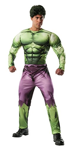 Rubie's Costume Men's Marvel Universe Adult Deluxe Hulk Costume