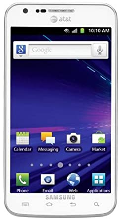 Samsung Galaxy S II Skyrocket 4G Android Phone, White (AT&T)