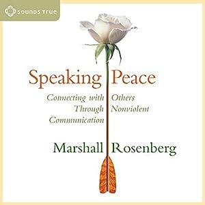 Speaking Peace Speech