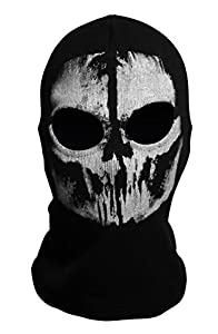 Koveinc Ghosts Balaclava Bike Skateboard Cosply Costume Skull Mask by Koveinc