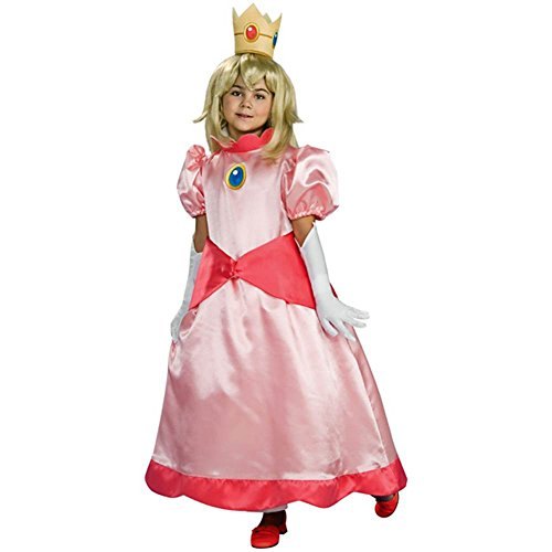 Nintendo Princess Peach Deluxe Kids Costume