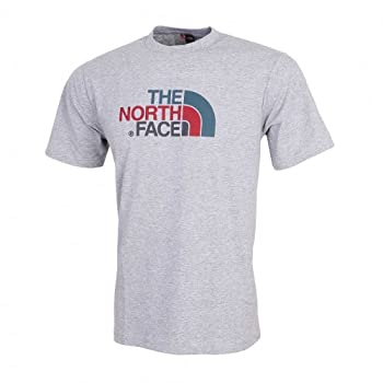 The North Face Easy Tee S/S gris (Taille cadre: XL)
