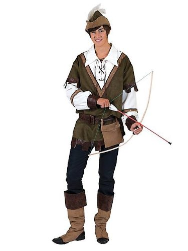 Boys Forest Robin Hood Costume M