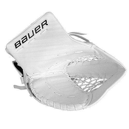 Bauer-Supreme-S190Catcher-Short-Couleur-Blanc-Jeu-Page-Reglinksfnger