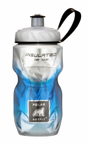 Polar Bottle Insulated Water Bottle, Blue Fade, 12-Ounce