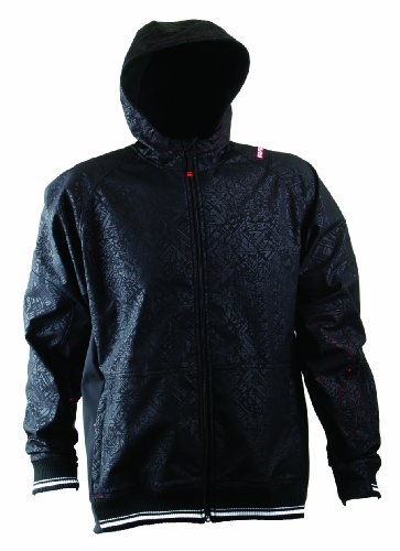Race Face Herren Jacke Hoodlum, black, M, 2112310002