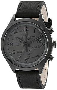 Timex Men's TW2P79000DH Intelligent Quartz Collection Analog Display Quartz Black Watch