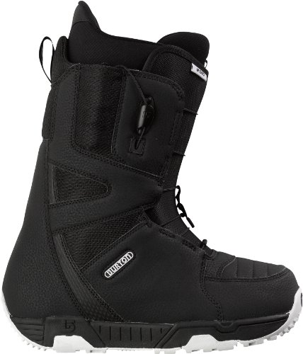 Burton Herren Boot Moto, black/white, 6.0, 275292