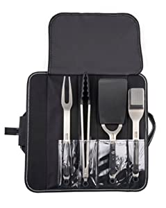 Kenyon A70011 4-Piece Stainless Steel Grill Utensil Set by Kenyon