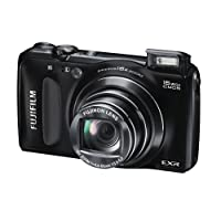 Fujifilm FinePix F660EXR 16MP Point-and-Shoot Digital Camera (Black) with 4GB SD Card, Carry Case