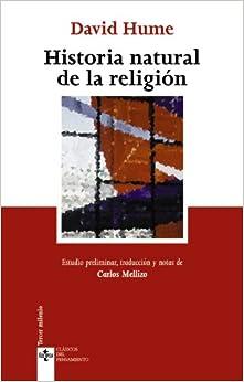 Historia natural de la religion (Spanish Edition) (Spanish) Paperback