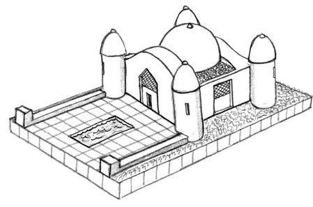 Terrain: 1/285th Scale (6mm) Middle East - Saddam Hussein's Palace