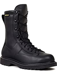 Rocky Work Boots Mens Duty Welt Leather Oil Resist Black FQ000802A