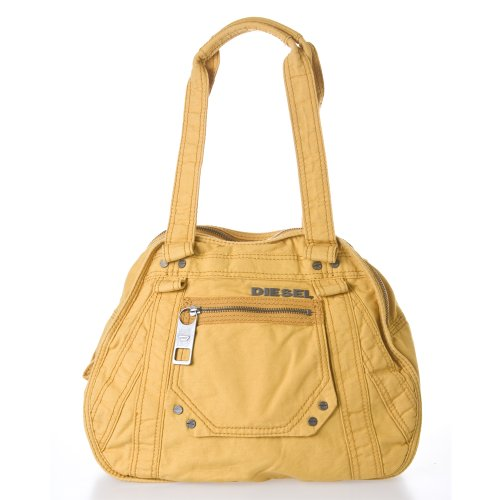 Diesel X Ray &#8216;Darling&#8217; Women&#8217;s Shoulder Bag, Color Honey Gold