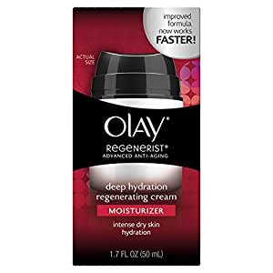 Olay Regenerist Advanced Anti-Aging Deep Hydration Regenerating Cream Moisturizer, 1.7 fl. Oz.