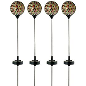 4 PCS Garden Solar Lights