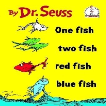 One fish two fish red fish blue fish i can read it all by for One fish two fish read aloud