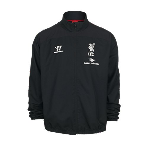 2014-15 Liverpool Warrior Presentation Jacket (Black)
