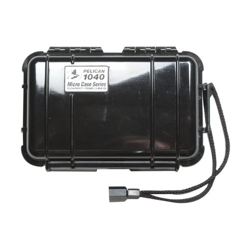 Pelican Ipod Protect Case Black Hard 6.5 X 3.9 X 1.7 1040-025-110