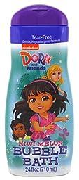 Dora The Explorer Bubble Bath 24oz Kiwi Melon (2 Pack)