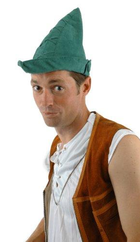 elope Robin Hood Hat, Green, One Size