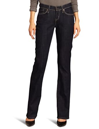 Levi's Women's 529 Curvy Boot Cut Jean, Right on Blue, 4 Medium