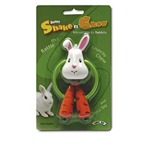 Click to buy Rabbit Toy: Super Pet Rabbit Bunny Shake N Chew Toy from Amazon!