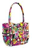 Vera Bradley (ヴェラブラッドリー) キャンパストートCampus Tote Handbag Va Va Bloom #12424-127【並行輸入】