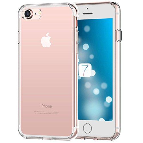 iPhone-7-Custodia-iHarbort-morbido-protettiva-TPU-Case-Cover-Custodia-in-Gel-silicone-per-Apple-iPhone-7-Trasparente
