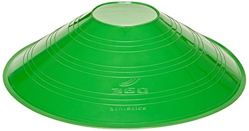 "360 Athletics Saucer Cone Marker, 7"", Green - 1"